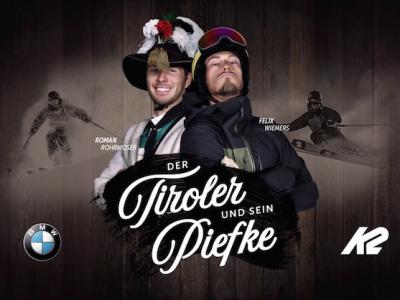 Plakat Der Tiroler und sein Piefke