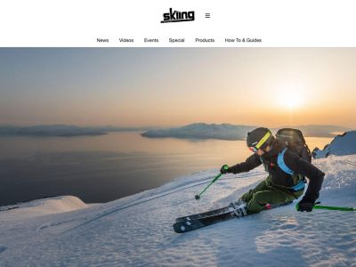 Skiing Homepage